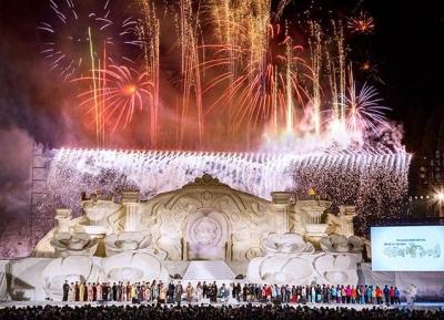 مهرجان توكاماتشي الجليدي