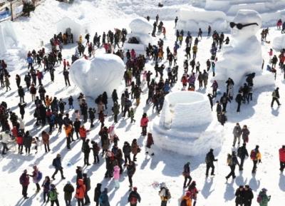 مهرجان ثلج جبل تيابيكسان