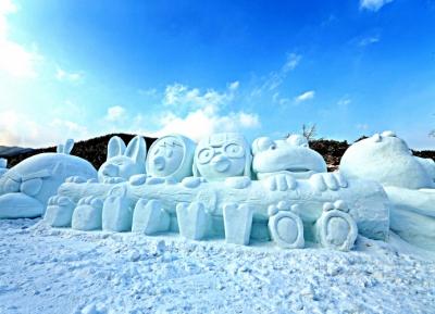 مهرجان شيلجابسان للنافورة الجليدية