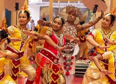 مهرجان السنهالية وسنة التاميل الجديدة
