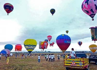 مهرجان البالونات الهوائية الساخنة