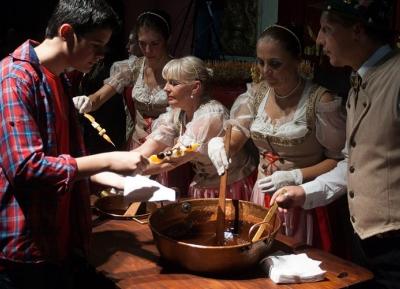 مهرجان شوكولاته جبال الألب