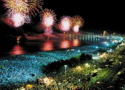 رأس السنة في كوباكابانا
