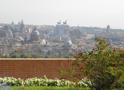 نظره على روما من أعلى