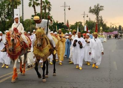 مهرجان مراكش للفنون الشعبية