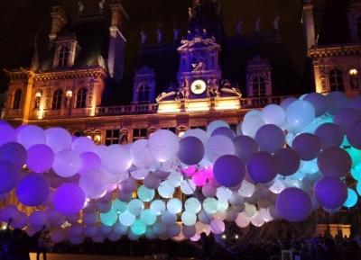 ليله بيضاء فى باريس - مهرجان وايت نايت