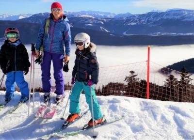 متعة التزلج فى غرونوبل