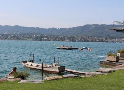 مزيد من الجمال على ضفاف بحيرة زيورخ
