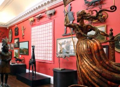 رحلة عبر التاريخ الامريكى فى المتحف الامريكى فى بريطانيا