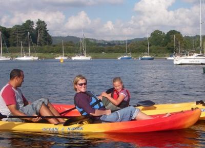 الرياضات المائيه وركوب القوارب فى ويندرمير