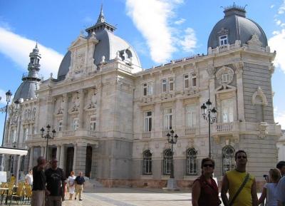 وجهه معماريه مميزه (قصر قرطاجنة - قاعه المدينة ) Palacio Consistorial
