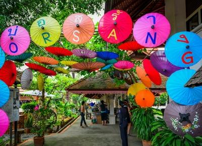 مهرجان مظلات بو سانغ