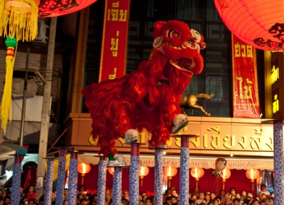 احتفالات شيانغ ماي بالسنة الصينية الجديدة