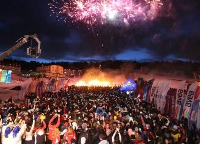 مهرجان أولوداغ للالعاب الشتويه