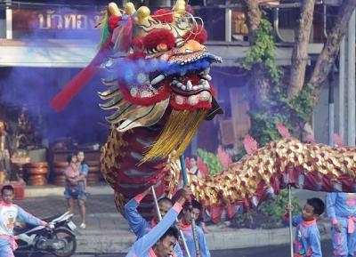 مهرجان التنين الصيني
