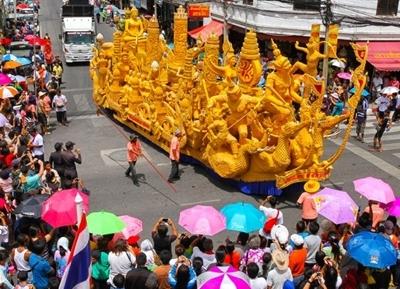 مهرجان موكداهان التايلاندي القبلي