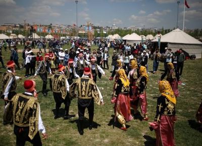مهرجان الشعوب التركيه