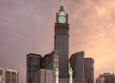 برج ساعة مكة الملكي ، فندق فيرمونت