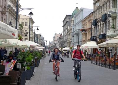 جولة تسوق فى شارع بيوتركوفسكا