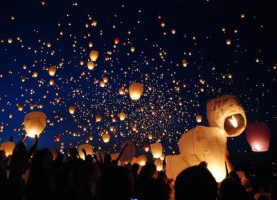 احتفل مع فوانيس السماء - كوبالا نايت