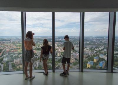 اطلاله رائعه من برج سكاى تاور