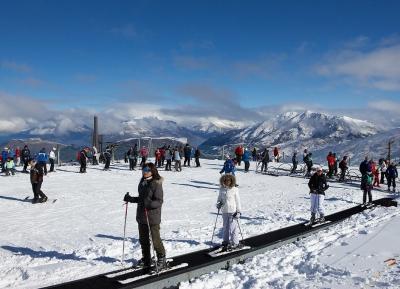 متعه التزلج فى كورونيت بيك