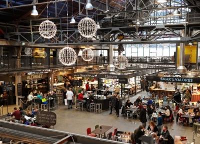 تجربة طعام مميزه فى ماتالين  - mathallen food hall
