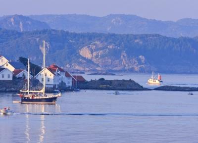 رحله بحريه على شواطئ النرويج الساحرة