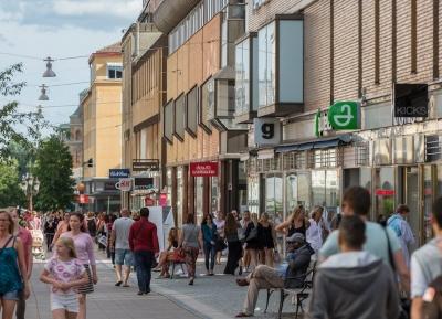 التسوق فى شارع Svartbäcksgatan
