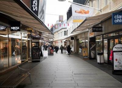 جوله فى شارع Kullagatan