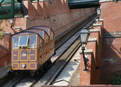 ركوب قطار قلعه بودابست المعلق