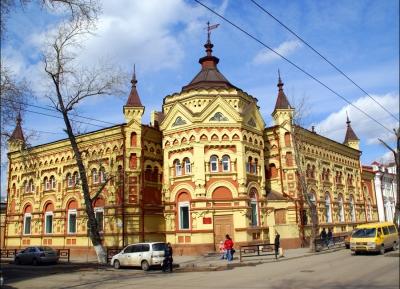 جوله حول المركز التاريخى لايركوتسك