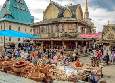 جولة فى سوق اسماعلينوف