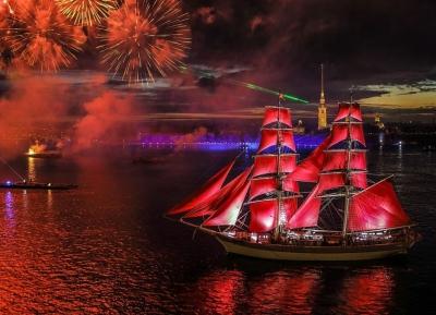 مهرجان scarlet sails