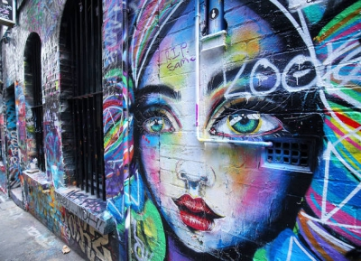 ألقى نظرة على فنون الشارع