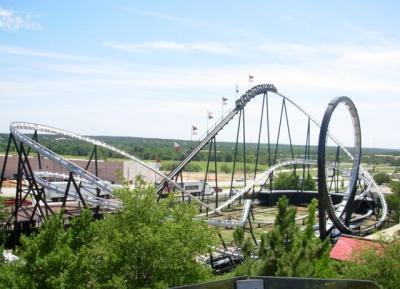 استعد لرفع الادرينالين الى اقصى درجه فى ملاهى Frontier City Theme Park
